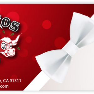 Gift Certificate Red